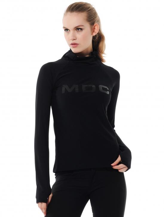 Meryl Zip Longsleeve black