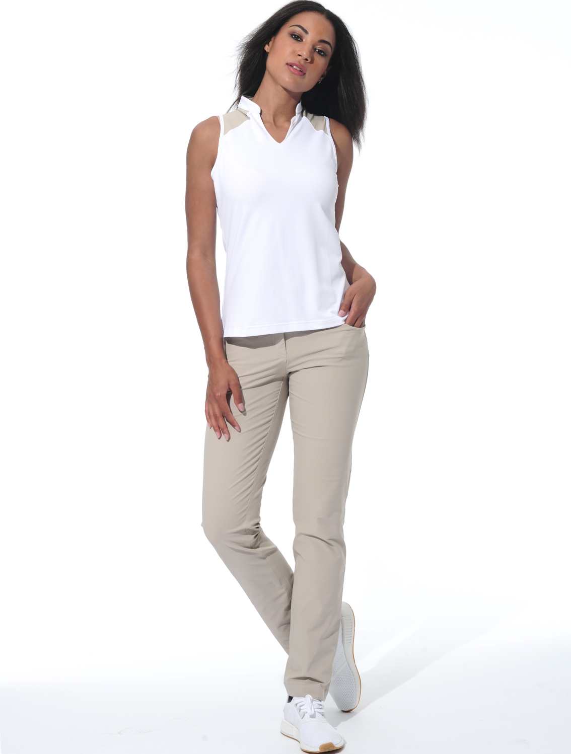 31228d79a8867 MDC   4way stretch straight cut pants light taupe